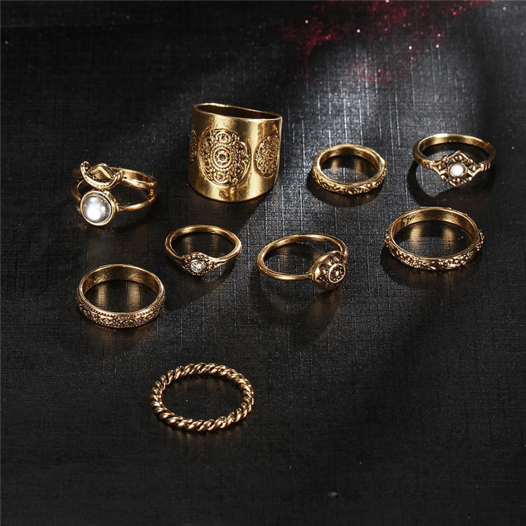 HTB1ZuXUQVXXXXaoXpXXq6xXFXXXp 9-Pieces Antique Style Turkish Knuckle Ring Set For Women - 2 Colors