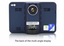 Лучшие 7 дюймов Автомобилей gps-навигация для Android 4.42 с Радар-детектор DVR камеры 1080 P авто камера G-сенсор камера заднего вида бесплатную карту