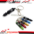 Car Parts Turbo Tein Damper Coilover Key Chain Keychain Rings Adjustable Suspension Tuning Keyholder Keyrings Auto Accessories