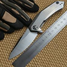 Dicoll Zero Error Of Zt0095 Titanium Alloy D2 Steel Knife Pocket Knife Camping Tool