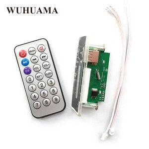 Image 5 - Blu Retroilluminazione A LED Modulo Scheda di Decodifica MP3 WMA Audio TF U Disk GMT + 8 Time Display Modulo DIY