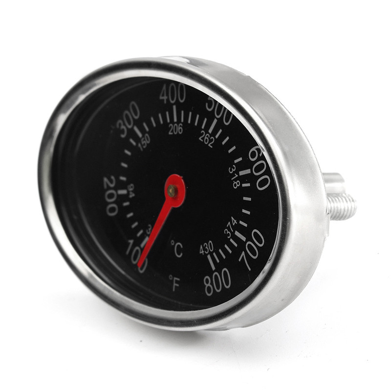 New 1pc 38 ~ 430 Metal Degree Centigrade Oven Thermometer Burner Gas Grill Temperature Gauge 76*48*39
