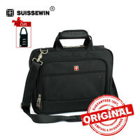 Brand Laptop Briefcase Men 14 Inch Laptop Bag Case Multifunctional Messenger Shoulder Bag Portfolio For HP