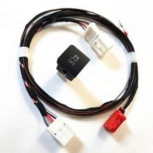 TUKE ESP OFF ASR Противоскользящий переключатель режима вождения и кабель провода аксессуары для VW Jetta 5 MK6 Golf MK5 6 1K0927117 1KD 927 117