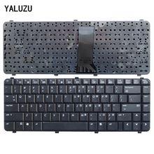 Ru/usキーボードhpコンパック 510 511 515 516 610 615 CQ510 CQ515 CQ511 CQ610 ラップトップブラックキーボード