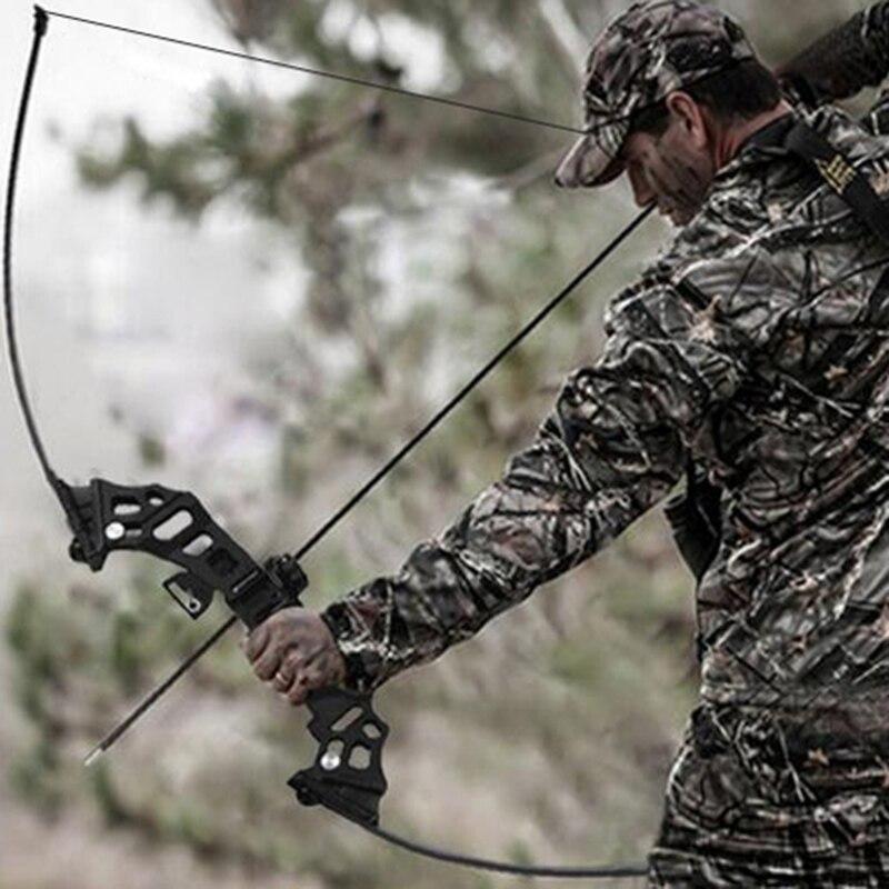 40lbs arc de pêche en aluminium recurve arc long arc droit pour démarreur