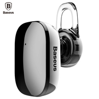 Baseus Mini Bluetooth Earphone Hands Free Wireless Bluetooth Headset Headphone With Mic 4 1 Ear Hook