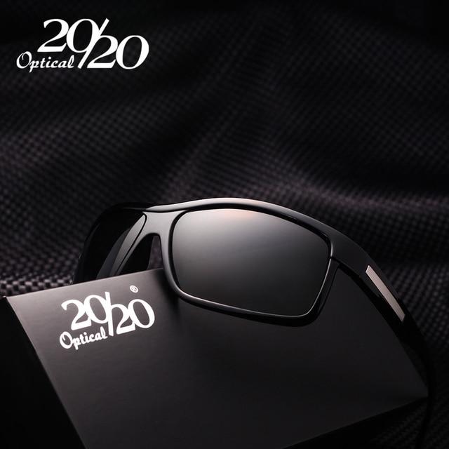 20 20 Marca Hombres del Diseño Clásico gafas de Sol Polarizadas Gafas  Masculinas de Conducción 4a5e56bcb2ff