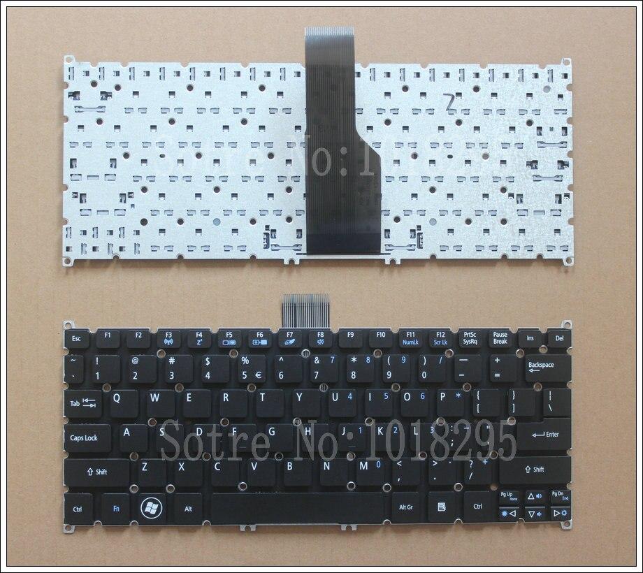 US laptop <font><b>keyboard</b></font> For ACER Aspire S3 S3-391 S3-951 S3-371 S5 S5-391 One 725 756 V5-171 Travelmate B1 B113 B113-E B113-M