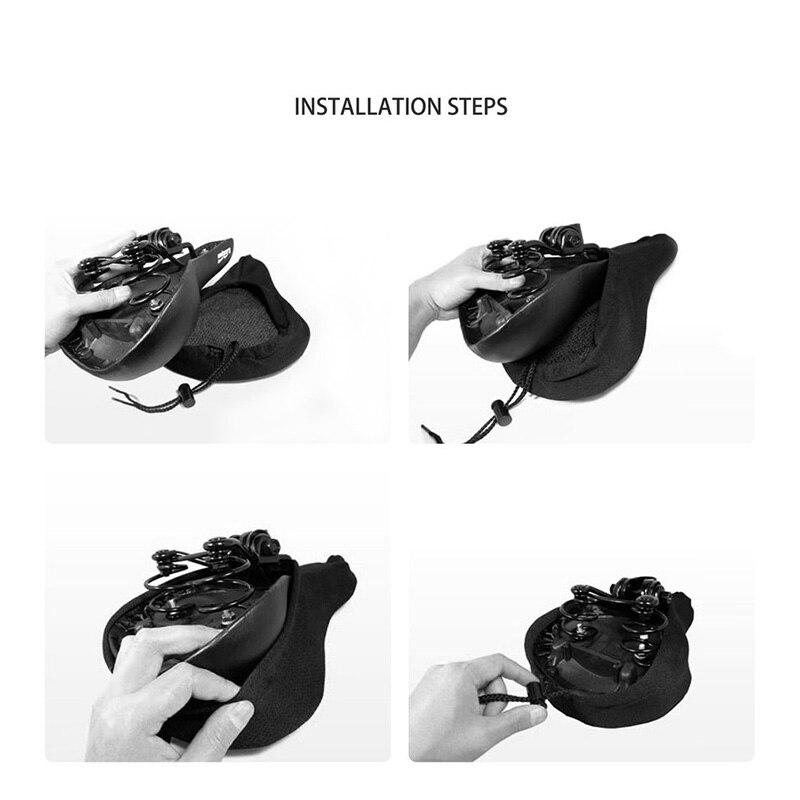 3D Pehme jalgratta silikoonistme 5