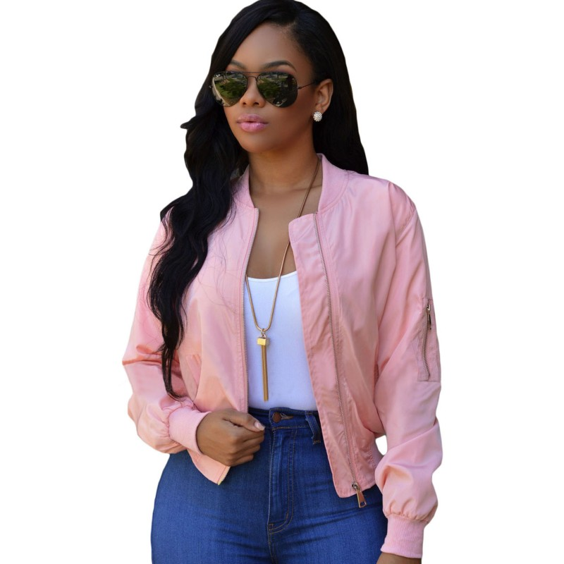 Popular Pink Cropped Jacket-Buy Cheap Pink Cropped Jacket lots