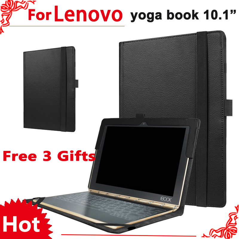 Yoga Book Flip Cover For Lenovo Yoga Book 2016 10.1 Tablet Case Protective shell Can Put Keyboard + Screen Film neworig keyboard bezel palmrest cover lenovo thinkpad t540p w54 touchpad without fingerprint 04x5544