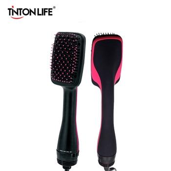 Professional Hair Dryer Brush Multi Function Electric Hair Blow Dryer Brush Hot Air Hair Curls Comb Salon Hair Styler Curling Iron