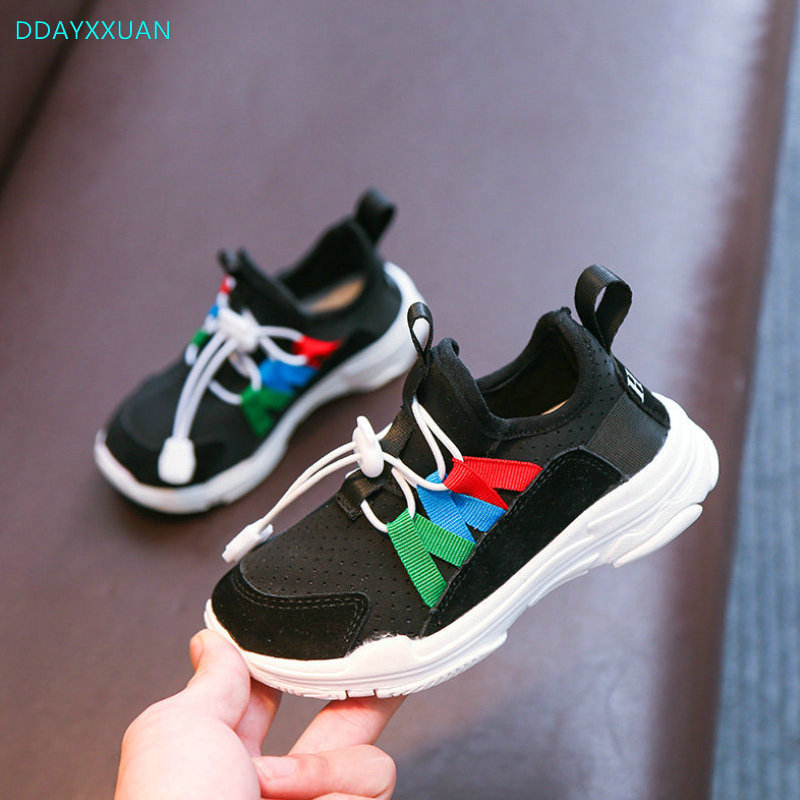 Kids Sports Shoes 2018 New Autumn Fashion girls sneakers net breathable sneakers children ultra-light comfortable shoes for Boys
