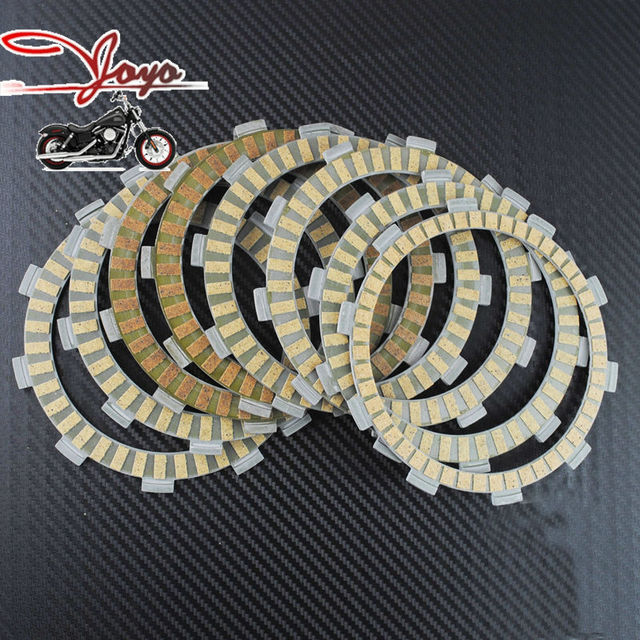 Brand New Motorcycle Paper-based Wet Clutch Friction Plates For Street/Cruiser NT650 CTX700 & Brand New Motorcycle Paper based Wet Clutch Friction Plates For ...