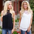 New Fashion Casual Women Ladies  Sleeveless Loose Shirt  Summer