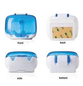 Стерилизатор зубной щетки для 2 зубных щеток, настенный держатель для зубной щетки для дезинфекции УФ-лучей