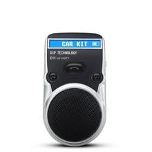 Солнечной энергии Автомобильный Комплект Bluetooth динамик громкой связи Вызова Автомобильный Комплект ЖК-Дисплей Аон bluetooth комплект с автомобильное зарядное устройство