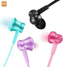 Original Xiaomi Piston 2 Earphones Stereo Basic Microphone In-ear Earphones for Phones Ipad MP3 3.5mm Colorful Universal Headset