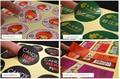 Custom logo/design glossy or matte paper pvc vinyl transparent clear plastic adhesive label sticker printing
