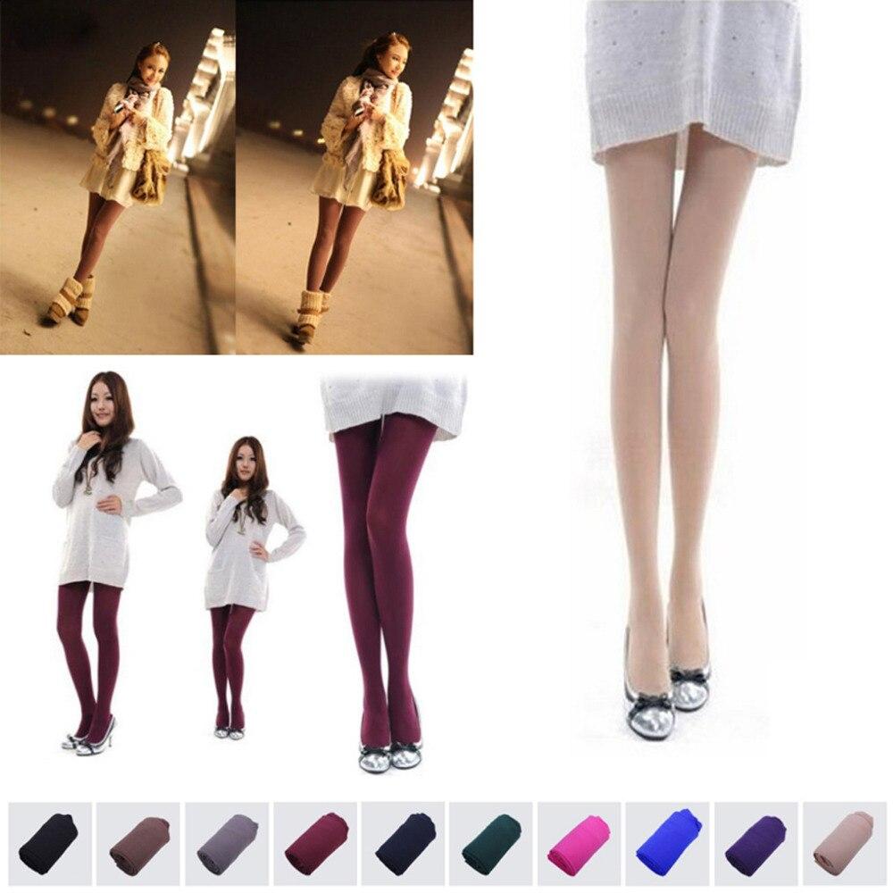 Winter Spring Women's legging Knitting Super Slim Vertical 10 color