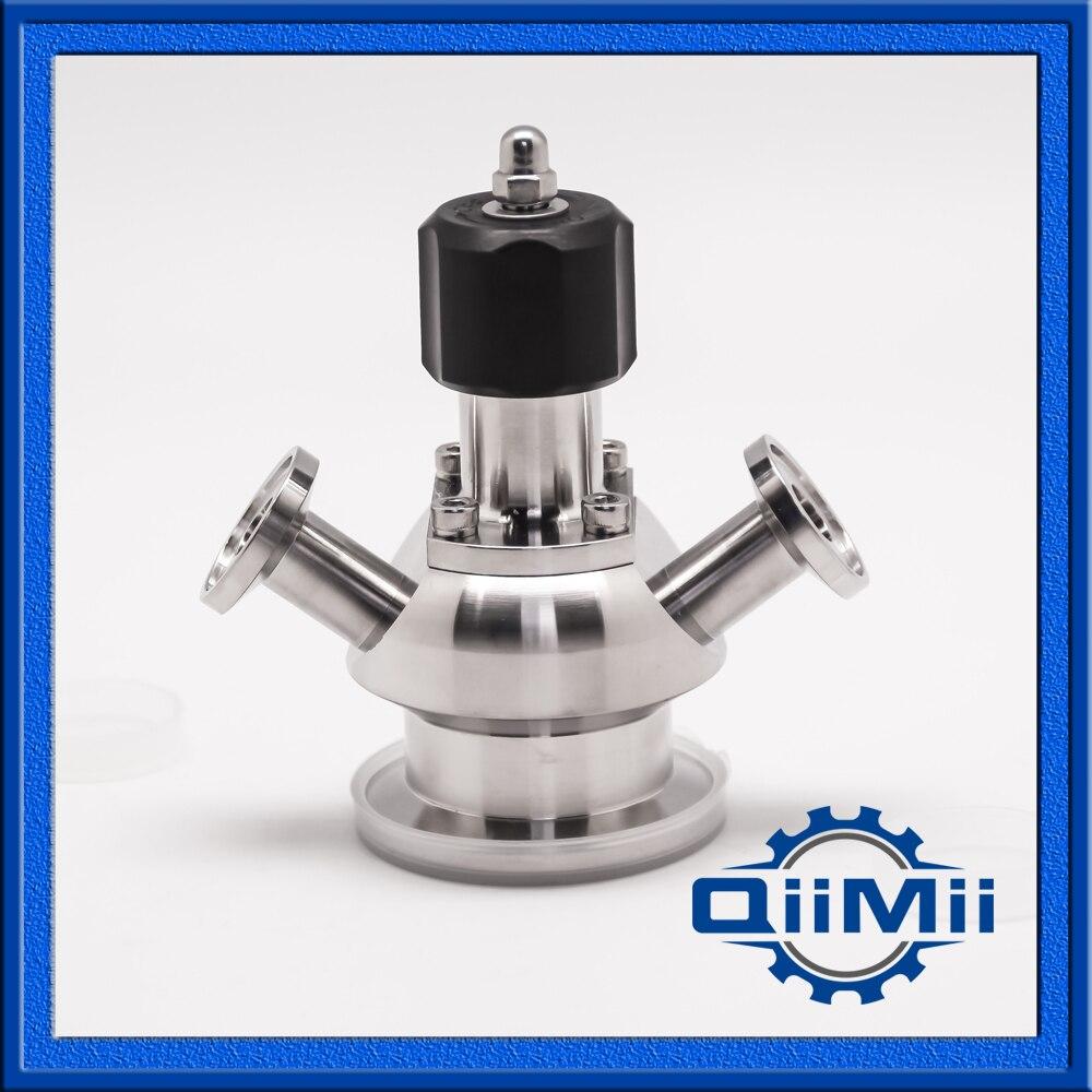 1.5 Inch Sanitary Aseptic Sampling Valve 316L hot sale weld sampling valve dn19 sanitary sampling valve stainless steel valve