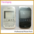 original full housing for Blackberry Curve 9320 Housing Cover Case Complete + keypad +Battery Door +Logo