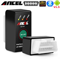 Android novo ad100 ancel interruptor do bluetooth elm 1.5 elm 327 pic18f25k80 russkoyazychnyy obd2 auto diagnostic scanner