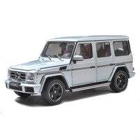 1:18 литья под давлением модели Mercedes Benz G500 для сплава игрушечный автомобиль миниатюрный коллекция подарок для детей Мальчики