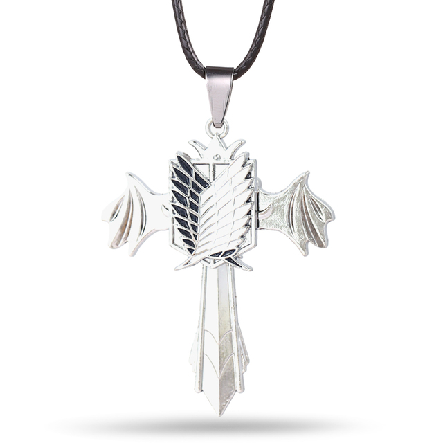Attack on Titan Rotatable Necklace