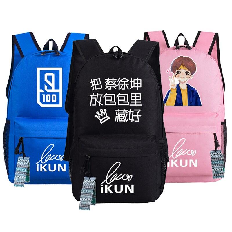 Idol Producer Nine Percent Kun Backpack Bag Shoulder School Students Travel Bag Package Cosplay