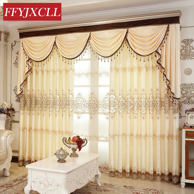 Polyester Cloth Curtains Tulle