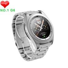 Original no. 1 g6 bluetooth smartwatch mtk2502 bluetooth 4,0 smart watch schrittzähler tracker rufen sms sync herzfrequenzmesser uhren