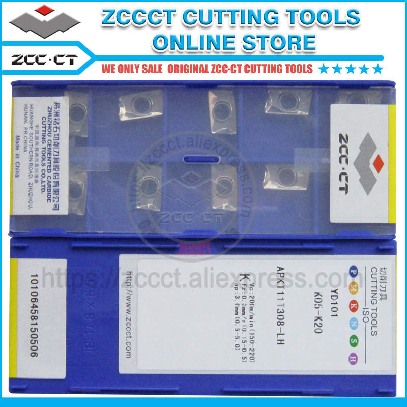 Free Shipping ZCCCT milling cutter cnc Tool Machine Tools 1 pack-in Milling Cutter from Tools    1