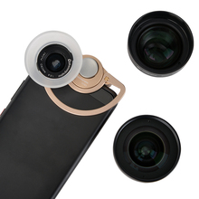 Mobile Lens External high-definition SLR mirror set universal cellphone lens Macro portrait lens wide-angle  fisheye lens стоимость