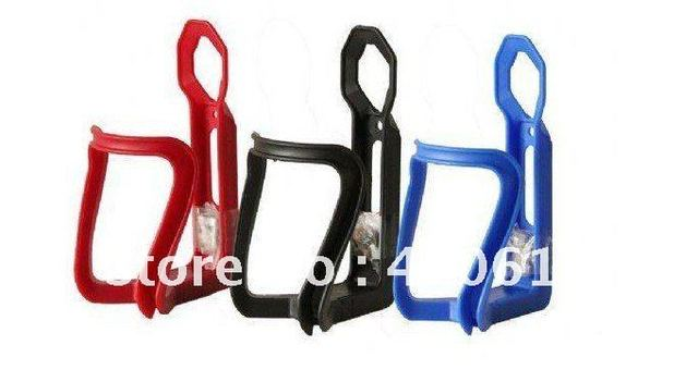 hot selling Free Shipping New 3 color Plastic Bike Bicycle Water Bottle Holder Rack Cage