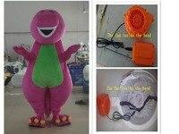 Barney adult cartoon mascot costume adult size cartoon characters free shipping