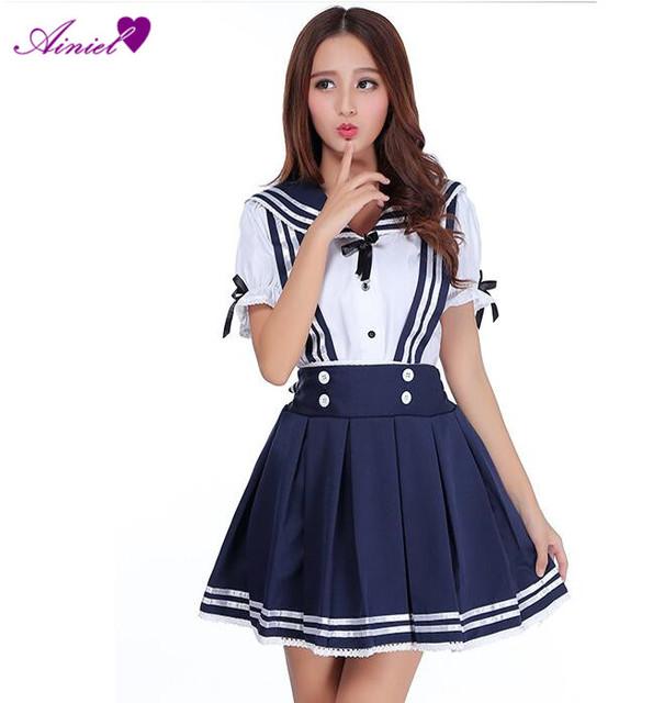 Uniforme japón School Cosplay Anime Girl Maid Marinero School Dress Lolita mujeres Vestidos sexy CS09260
