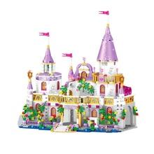 Windsor Princess Castle toy Children Gift Model Building Blocks Compatible Legoingly Friends Princess Girl For Christmas Toys disney education windsor castle princess friend girl building blocks toys give your childrens the best christmas gifts
