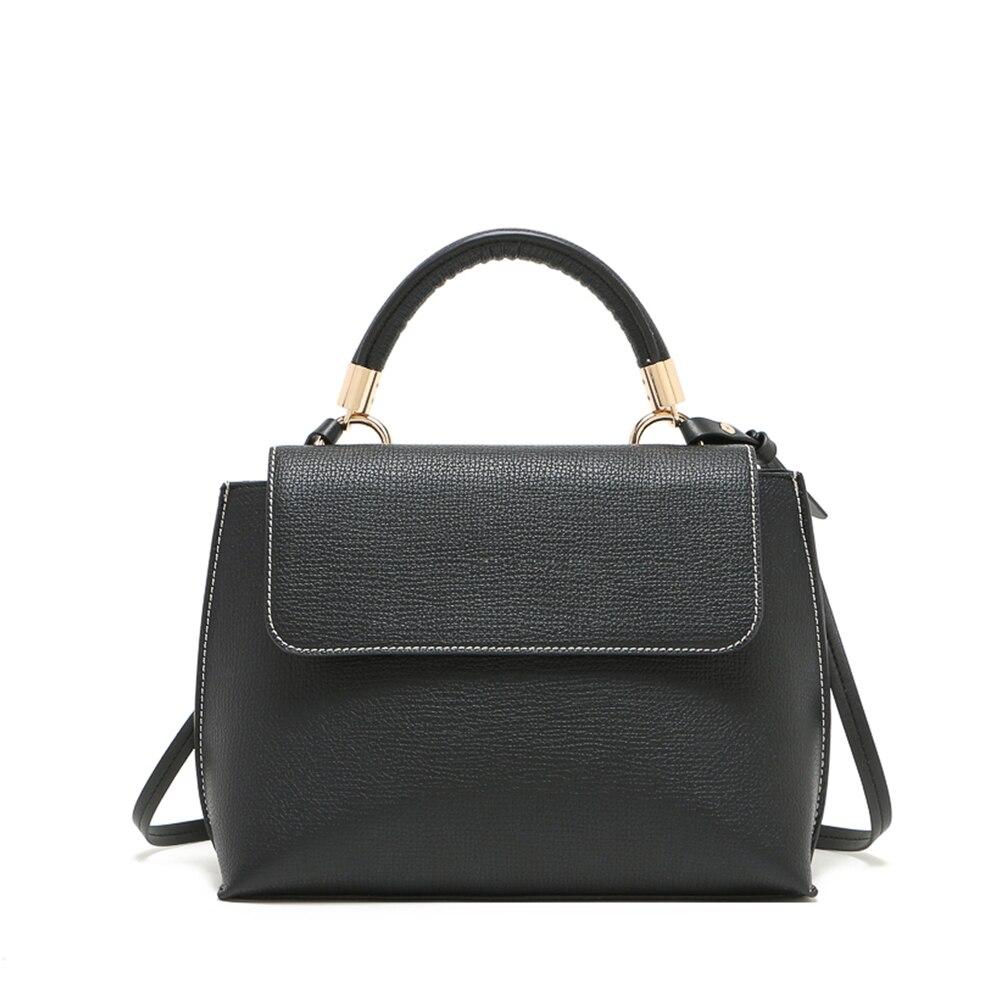 Black Formal Women Handbag Vintage Shoulder Bag Messenger Bags Hobo Bag Satchel Tote Purse ...