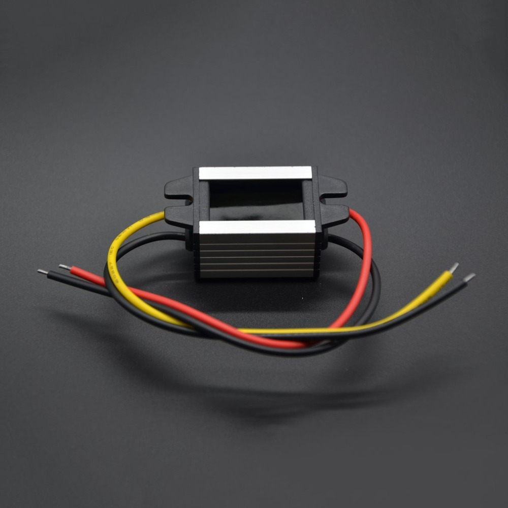 Waterproof DC to DC Converter 12V to 3-9V 2A 3A Auto Car Power Module Supply Copper Cord Step-Down Voltage Regulator