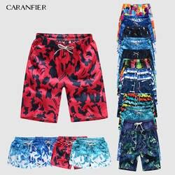 CARANFIER для мужчин спортивные короткие пляжные шорты-бермуды пляжные шорты для будущих мам сёрфинг мужские плавки купальный костюмы