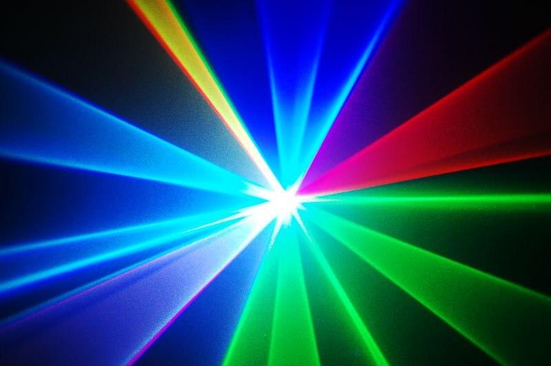 600mW RGB full color DMX laser light stage party lighting