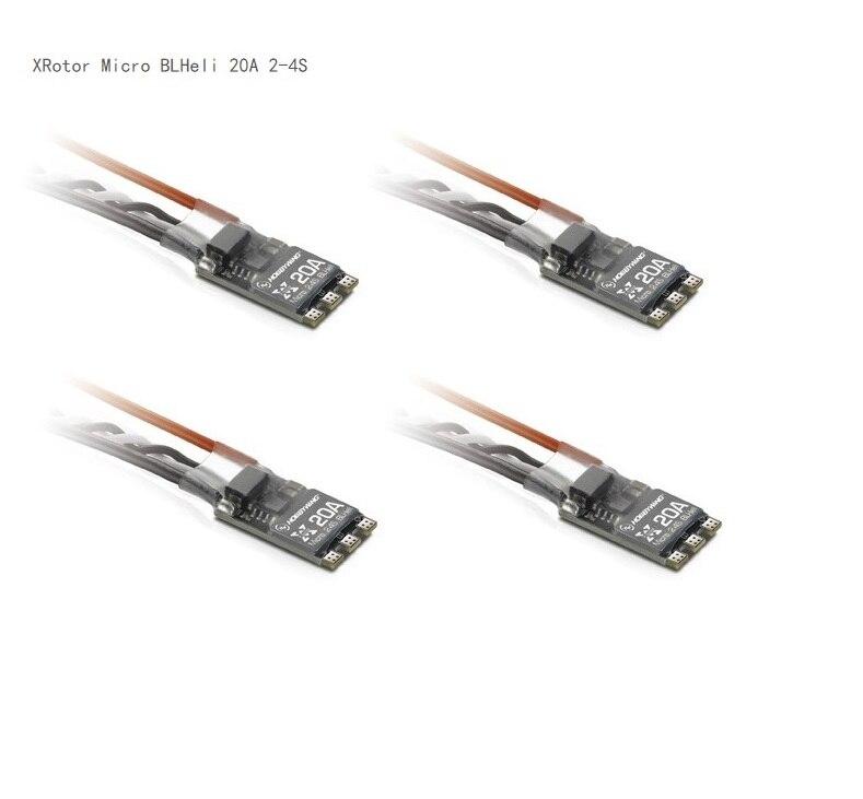 4pcs XRotor Micro 20A / 30A / 35A BLHeli Mini ESC