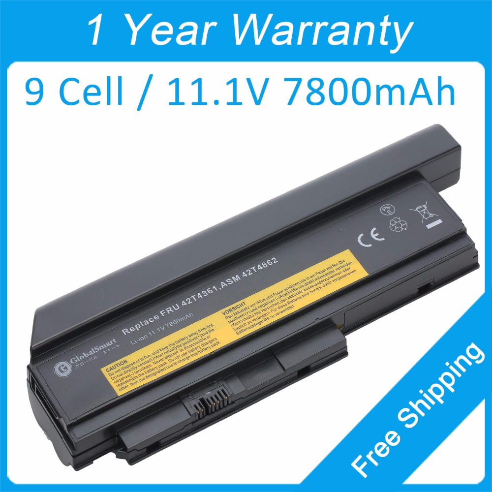 New 9 cell laptop battery 42T4862 42T4873 42T4902 42Y4940 42T4863 42T4875 42T4940 for lenovo ThinkPad X220i  X220s X220  SeriesNew 9 cell laptop battery 42T4862 42T4873 42T4902 42Y4940 42T4863 42T4875 42T4940 for lenovo ThinkPad X220i  X220s X220  Series