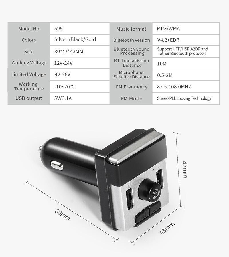 E3313-Bluetooth FM-13