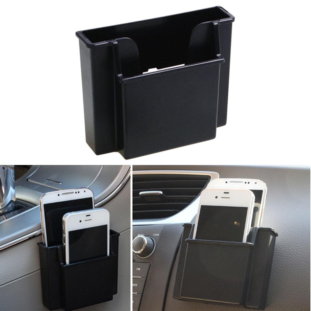 Прочный автомобиль воздуха на выходе зарядки телефона держатель Пластик автомобилей место карты ящик для хранения пера Солнцезащитные очк…