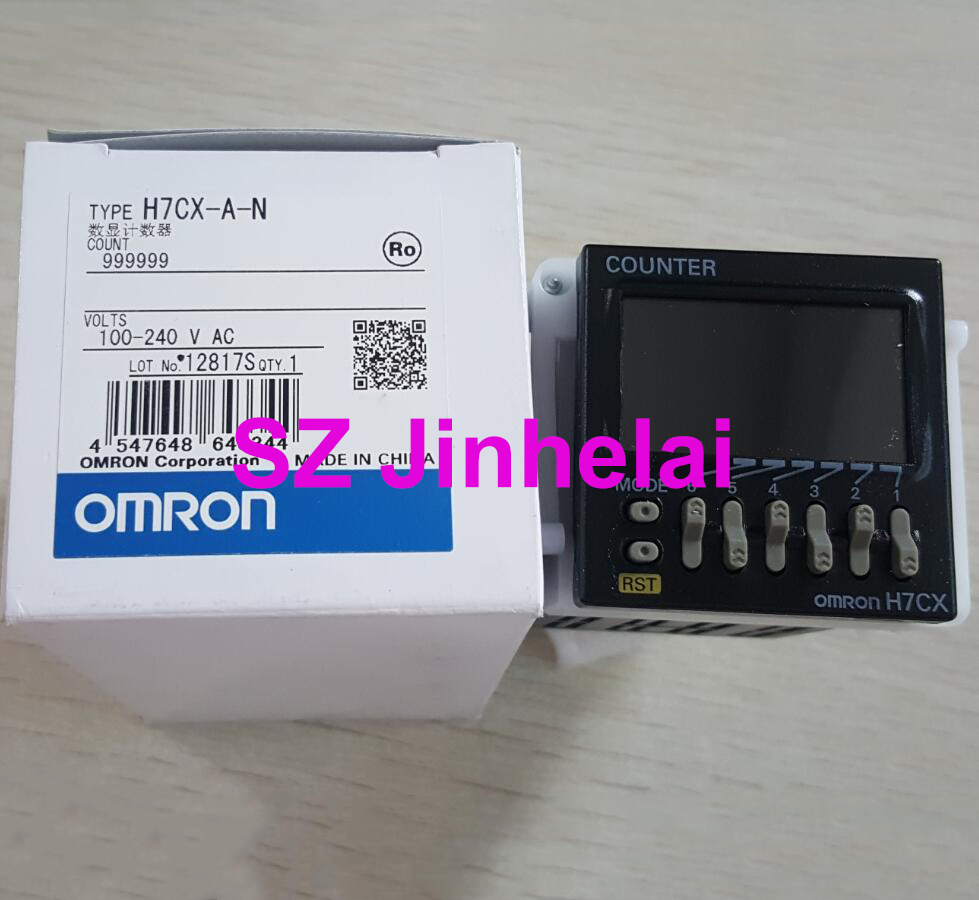 OMRON H7CX A N Authentic original Count relay 100 240VAC Digital display counter