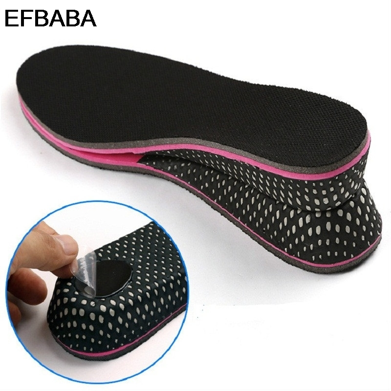 EFBABA Verhoogde inlegzolen Traagschuim Inlegzolen Zweet Absorberende - Schoenaccessoires