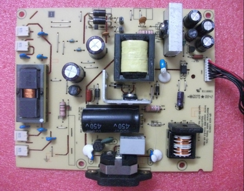 Free Shipping> /  E2209W power board ILPI-093 491571400100H pressure plate-Original 100% Tested Working free shipping s2031 power board 492001400100r ilpi 182 pressure plate hw191apb original 100% tested working